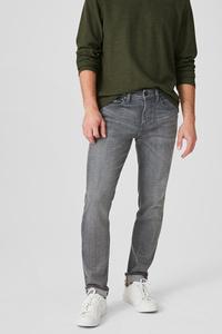 C&A Slim Jeans, Grau, Größe: W28 L32