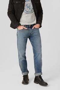 C&A Straight Jeans, Blau, Größe: W30 L32