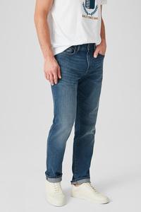 C&A Straight Jeans, Grau, Größe: W30 L32