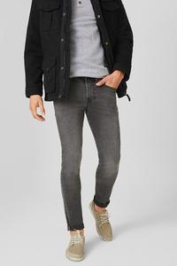 C&A Skinny Jeans, Grau, Größe: W28 L32