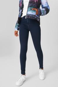 C&A CLOCKHOUSE-Super Skinny Jeans, Blau, Größe: 34