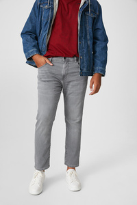 C&A Slim Jeans-Flex Jog Denim, Grau, Größe: W42 L30
