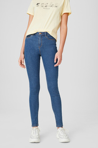 C&A CLOCKHOUSE-Skinny Jeans, Blau, Größe: 34