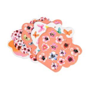Stickerbogen Anemone, FSC Mix, 12 Stück, bunt