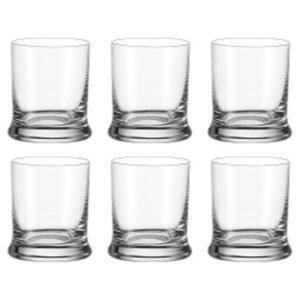 LEONARDO 6er Set Glas K18 für Wasser oder Saft