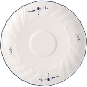 Villeroy & Boch Teller VIEUX LUXEMBOURG 14 cm Porzellan weiß/blau