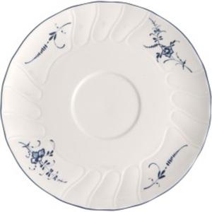 Villeroy & Boch Unterteller VIEUX LUXEMBOURG 19 cm Porzellan weiß/blau