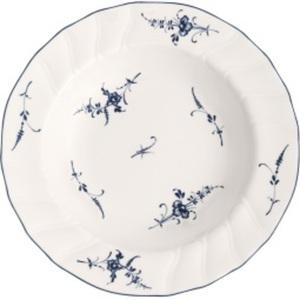 Villeroy & Boch Teller VIEUX LUXEMBOURG 23 cm Porzellan weiß/blau