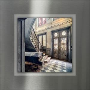 PRO ART Alu-Art Bild LOST LOBBY I 50 x 50 cm