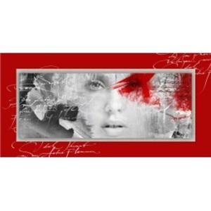 PRO ART Alu-Art Bild RED PASSION I 50 x 100 cm