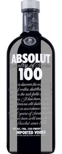 Absolut Vodka 100 Country of Sweden    - Vodka, Schweden, trocken, 0,7l
