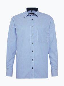 Eterna Comfort Fit Herren Hemd Bügelfrei blau Gr. 41