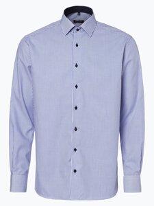 Eterna Modern Fit Herren Hemd - Bügelfrei blau Gr. 39