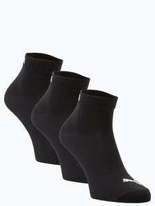 Puma Herren Socken im 3er-Pack schwarz Gr. 35-38