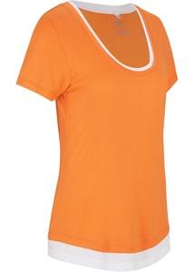 Sport-Shirt, 2 in1-Optik, kurzarm
