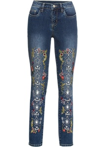 Skinny-Jeans verziert