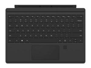 Microsoft Type Cover, für Surface Pro, mit Fingerprint-ID, schwarz