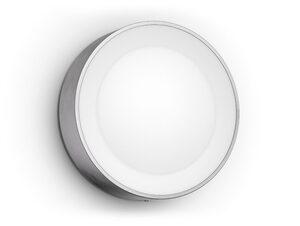 Philips Hue Daylo Wandleuchte, Outdoor-Erweiterung, LED integriert, silber
