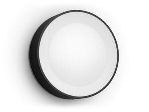 Philips Hue Daylo Wandleuchte, Outdoor-Erweiterung, LED integriert, schwarz