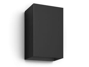 Philips Hue Resonate Wandleuchte, Outdoor-Erweiterung, LED integriert, schwarz