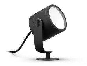 Philips Hue Lily XL, LED-Spot, Outdoor-Erweiterung, Niedervolt-System, schwarz
