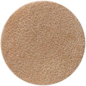 Hochflor-Teppich »Shaggy 30«, Home affaire, rund, Höhe 30 mm, gewebt, Wohnzimmer
