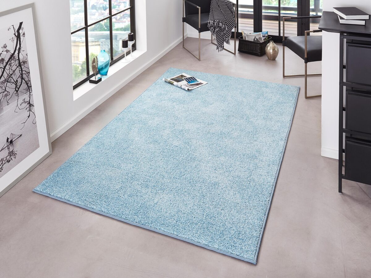 Bild 3 von Teppich »Pure 100«, HANSE Home, rechteckig, Höhe 13 mm, Velours Haptik, Wohnzimmer