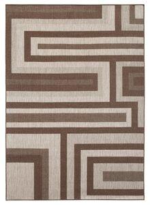 Teppich »Cannes«, Bruno Banani, rechteckig, Höhe 3 mm, In- und Outdoor geeignet, Wendeteppich, Wohnzimmer