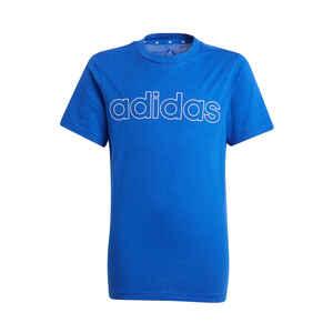 T-Shirt Adidas Linear Kinder blau