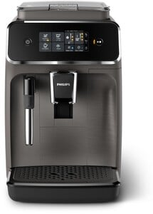 PHILIPS Series 2200 EP2224/10 kaschmirgrau Kaffeevollautomat (Sensortouch Oberfläche, 15 bar, 3 Temperatureinstellungen, herausnehmbare Brühgruppe, 12 Mahlgradeinstellungen)