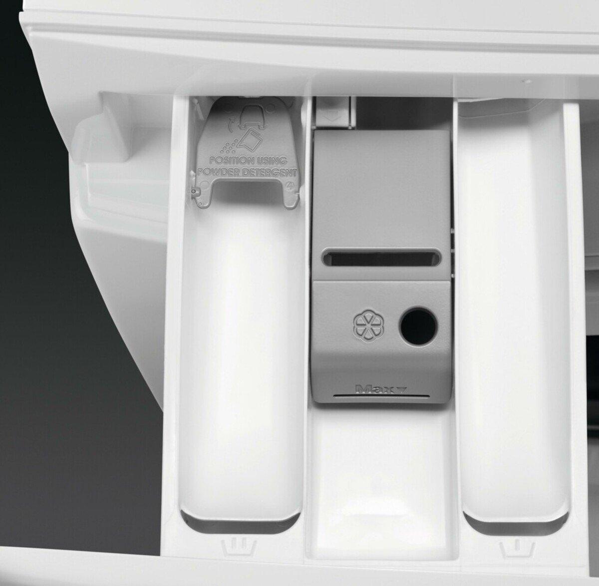 Bild 4 von AEG LAVAMAT L6FBA5680 Waschmaschine (Frontlader, freistehend, 8 kg, D, 1.600 U/Min, Serie 6000, Mengenautomatik, Nachlegefunktion)