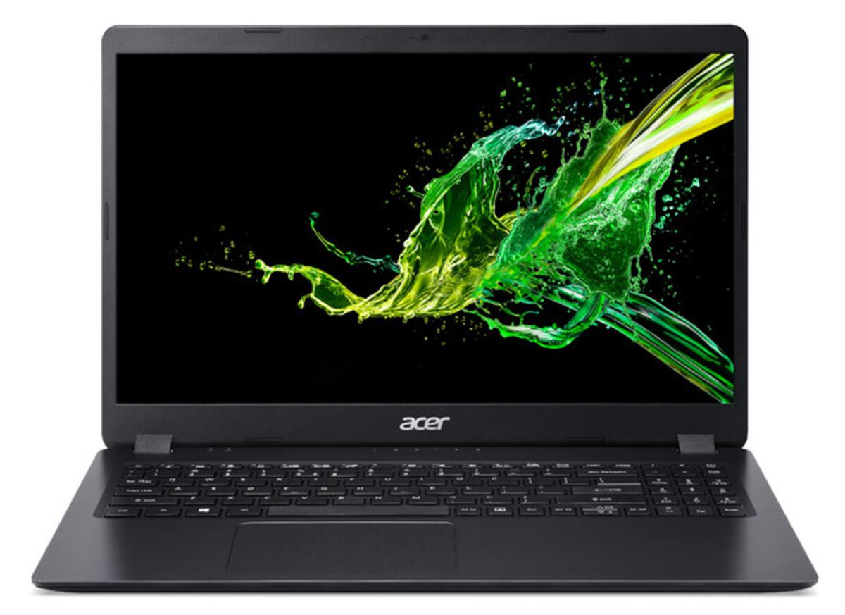 Bild 1 von ACER Aspire 3 (A315-56-53EX) schwarz Notebook (15,6 Zoll Full-HD (matt), i5-1035G1, 8 GB RAM, 256 SSD, UHD-Grafik, Windows 10 Home)