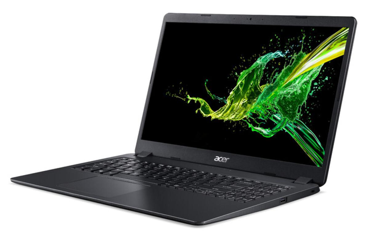Bild 3 von ACER Aspire 3 (A315-56-53EX) schwarz Notebook (15,6 Zoll Full-HD (matt), i5-1035G1, 8 GB RAM, 256 SSD, UHD-Grafik, Windows 10 Home)