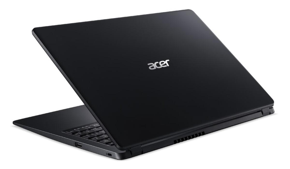 Bild 4 von ACER Aspire 3 (A315-56-53EX) schwarz Notebook (15,6 Zoll Full-HD (matt), i5-1035G1, 8 GB RAM, 256 SSD, UHD-Grafik, Windows 10 Home)