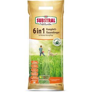 6in1 Komplett-Rasendünger - 10 kg - Naturen