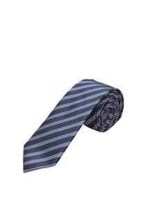 Herren Gestreifte Krawatte aus Seidemix