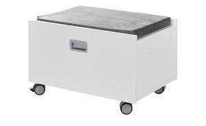 PAIDI Rollbox - weiß - 65 cm - 41 cm - 47 cm - Schränke