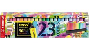 STABILO® BOSS® ORIGINAL  Textmarker Tischset 23 Stifte