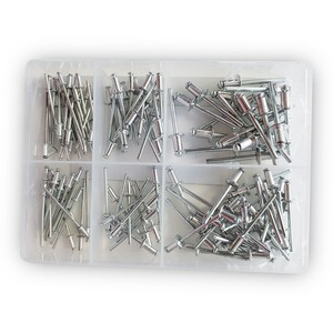 Kraft Werkzeuge Blindnieten-Sortiment, 120tlg.