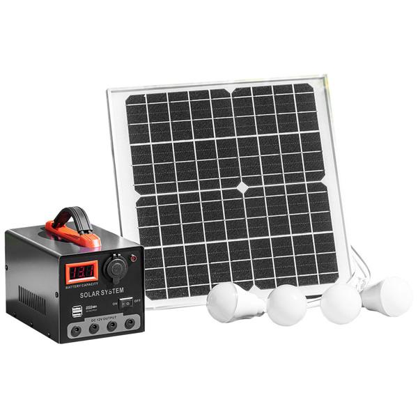 Mauk Solar-Panel 15W mit Powerpack