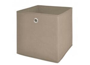 Stoffbox 1 grau