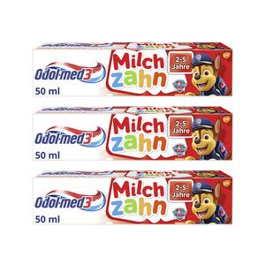 Odol med3 3x50 ml Milchzahn Zahnpasta