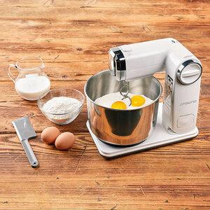 Faltbare Küchenmaschine Weiß1