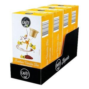 Cafet für Cremesso Rooibos Vanilla Tea 16 Kapseln 32 g, 4er Pack
