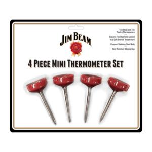 JIM BEAM Mini Thermometer Set