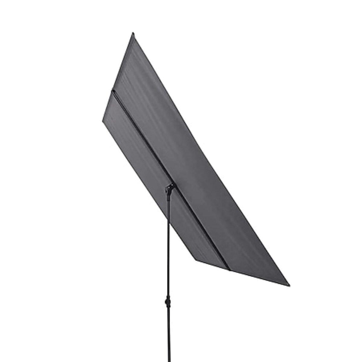 Bild 1 von Hoberg Sonnenschirm rechteckig 180x130x200cm anthrazit