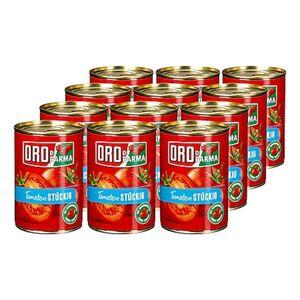 Oro di Parma Tomaten stückig 400 g, 12er Pack