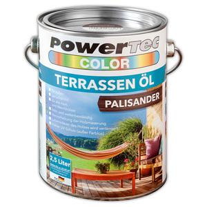 Powertec Color Terrassen-Öl