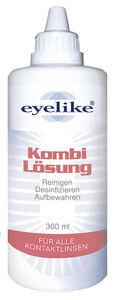 eyelike Kombilösung für weiche Kontaktlinsen 0,36 ltr