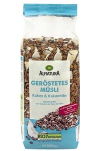 Alnatura Bio Geröstetes Müsli Kokos & Kakaonibs 350G